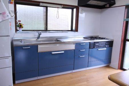 狭い家の快適キッチン